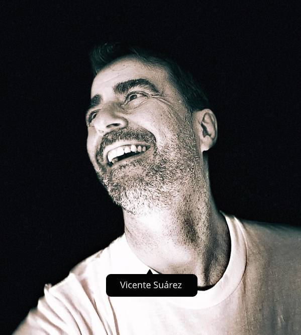 Vicente Suárez, socio en Gablons